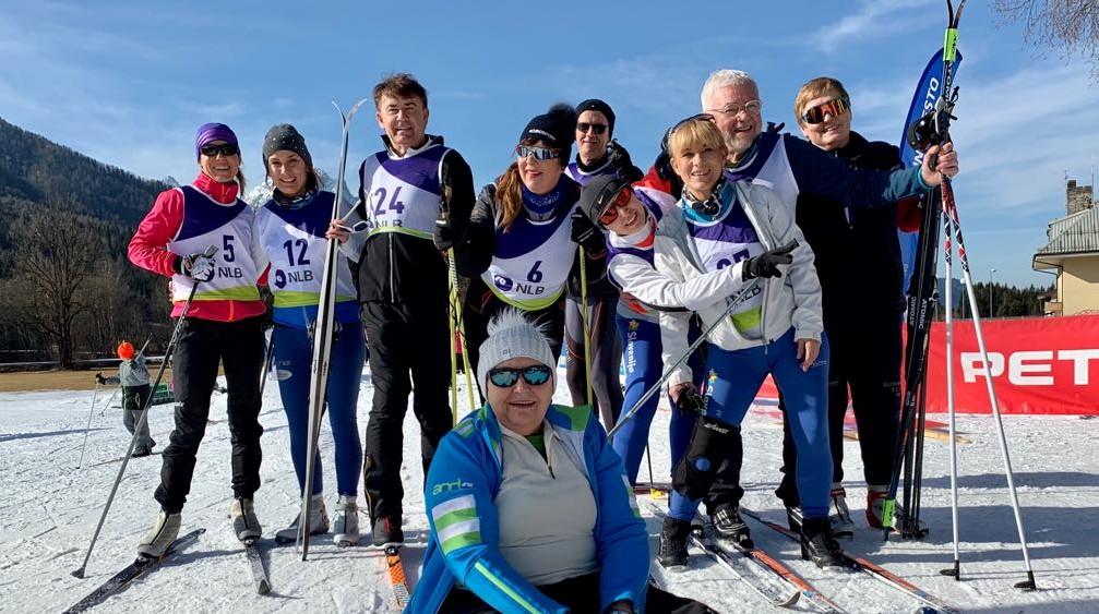 Kranjska gora 2020: Ni veliko snega, je pa vrhunska družba